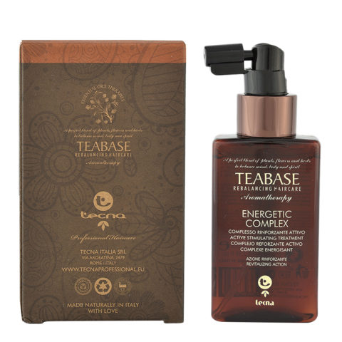 Tecna Teabase aromatherapy Energetic complex 100ml - tratamiento revitalizante
