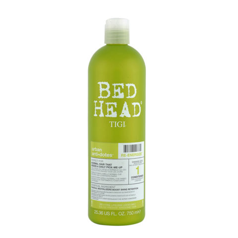 Tigi Urban Antidotes Re-Energize Conditioner 750ml - Acondicionador de Reestructuración Nivel 1