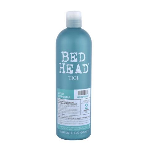 Tigi Urban Antidotes Recovery Shampoo 750ml - Champù de Reestructuración Nivel 2