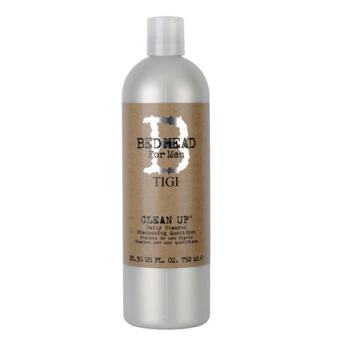 Tigi Bed Head Men Clean up Daily Shampoo 750ml - champù de uso diario