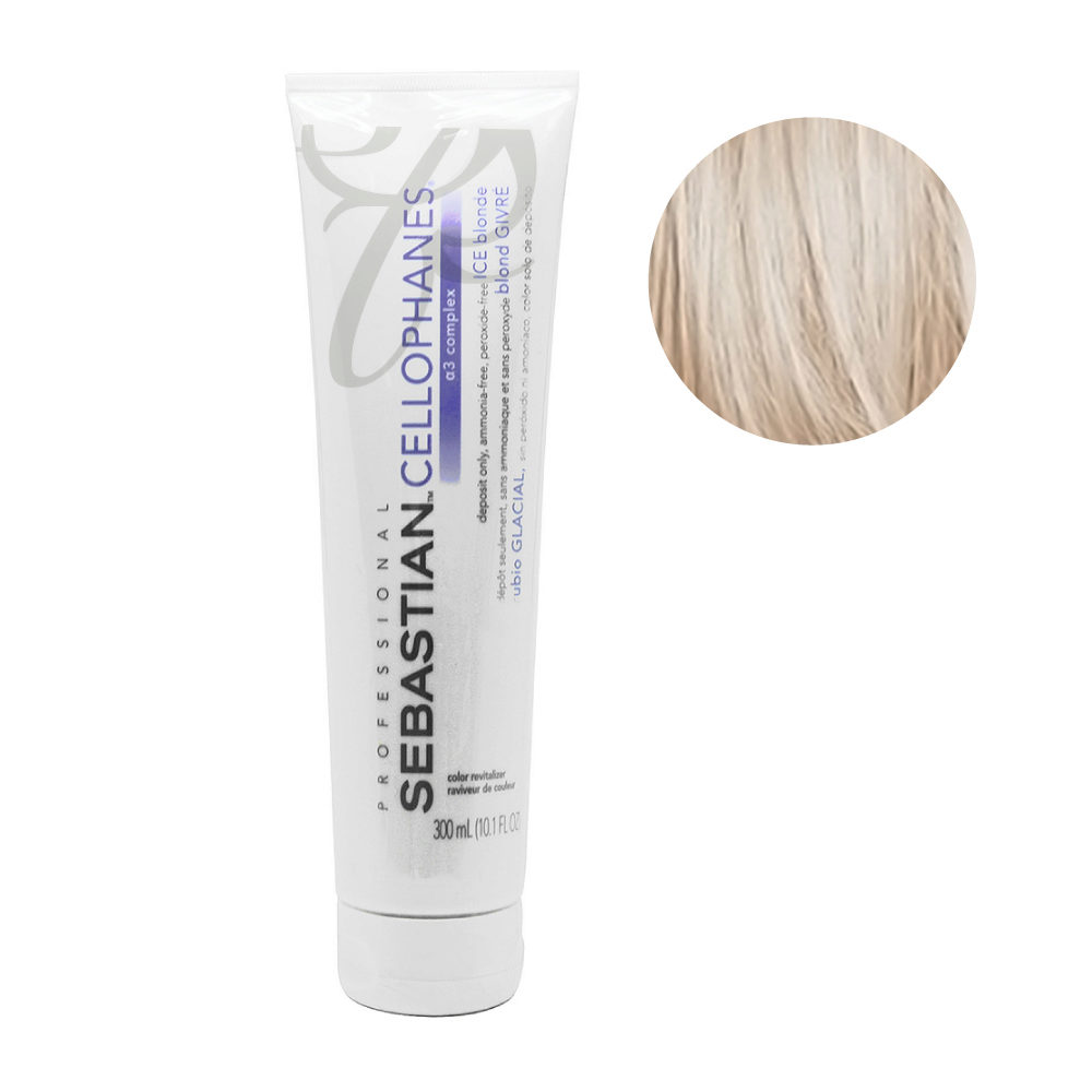 Sebastian Cellophanes Ice blond Mascarilla reflectante 300 ml