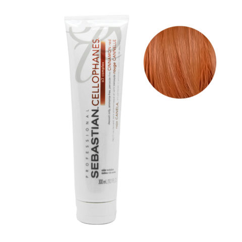 Sebastian Cellophanes Cinnamon red Mascarilla Reflectante 300ml