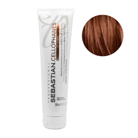 Sebastian Cellophanes Chocolate Brown Mascarilla Reflectante 300ml