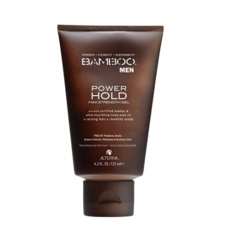 Alterna Bamboo Men Power hold max strength gel 125ml - gel de fijación máxima