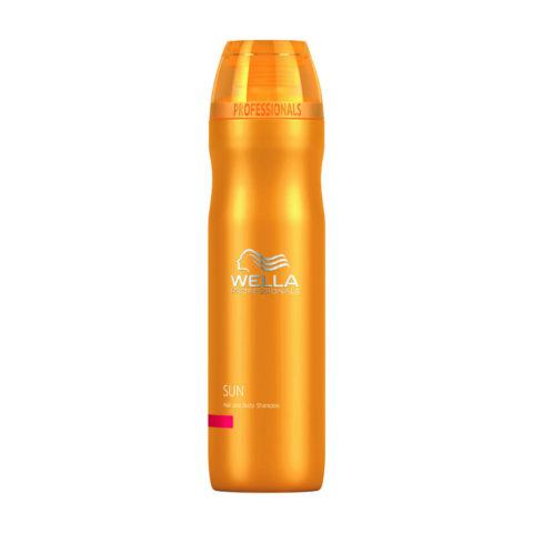 Wella Sun Hair and body shampoo 250ml - champù cuerpo y cabellos