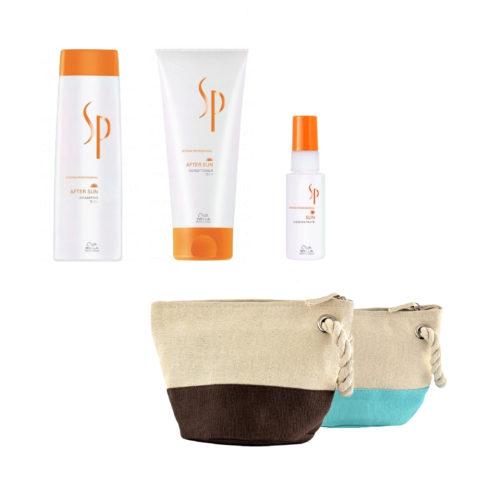 Wella System Professional After sun kit shampoo 250ml   conditioner 200ml   concentrate 50ml   en regalo bolsa