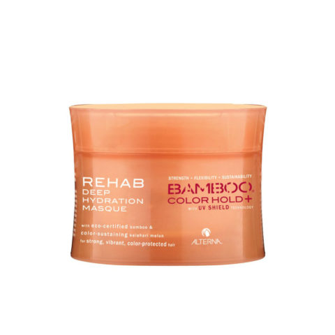 Alterna Bamboo Color Hold UV shield Rehab deep hydration masque 142gr - mascarilla cabello teñido