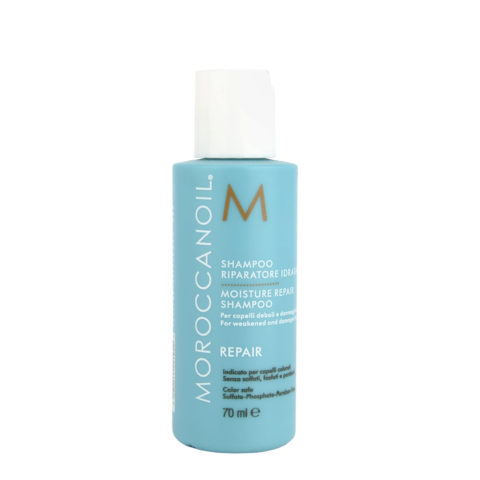 Moroccanoil Moisture repair shampoo 70ml - champù reparador hidratante