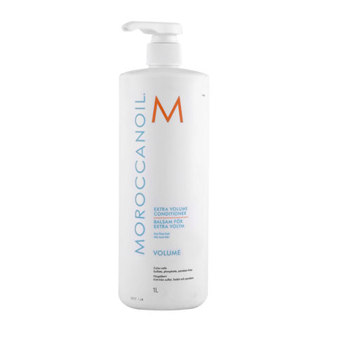 Moroccanoil Extra volume conditioner 1000ml - acondicionador extra volumen