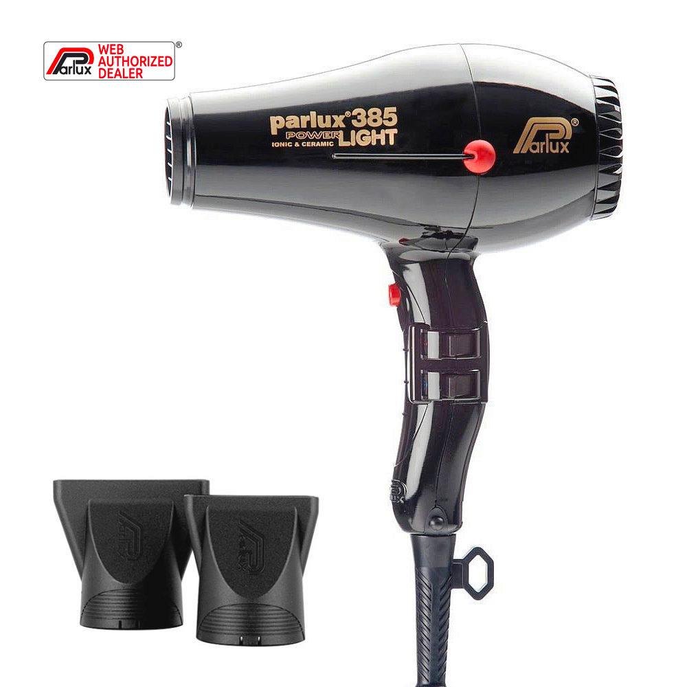Parlux 385 Powerlight Ionic & Ceramic Negro - secador
