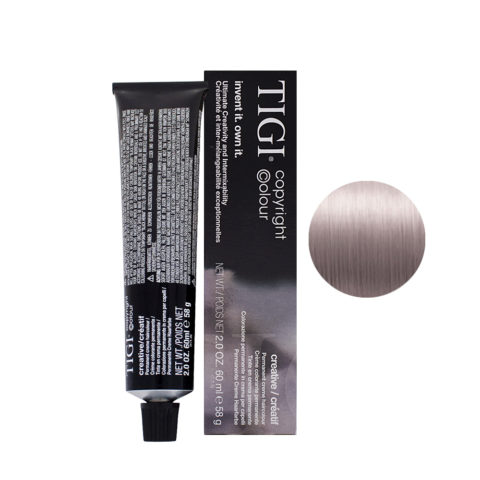 9/02 Very light natural violet blonde Tigi Creative 60ml