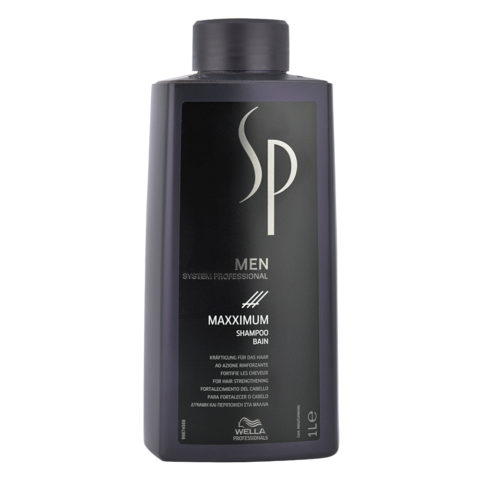 Wella SP Men Maxximum Shampoo 1000ml - champù anticaida