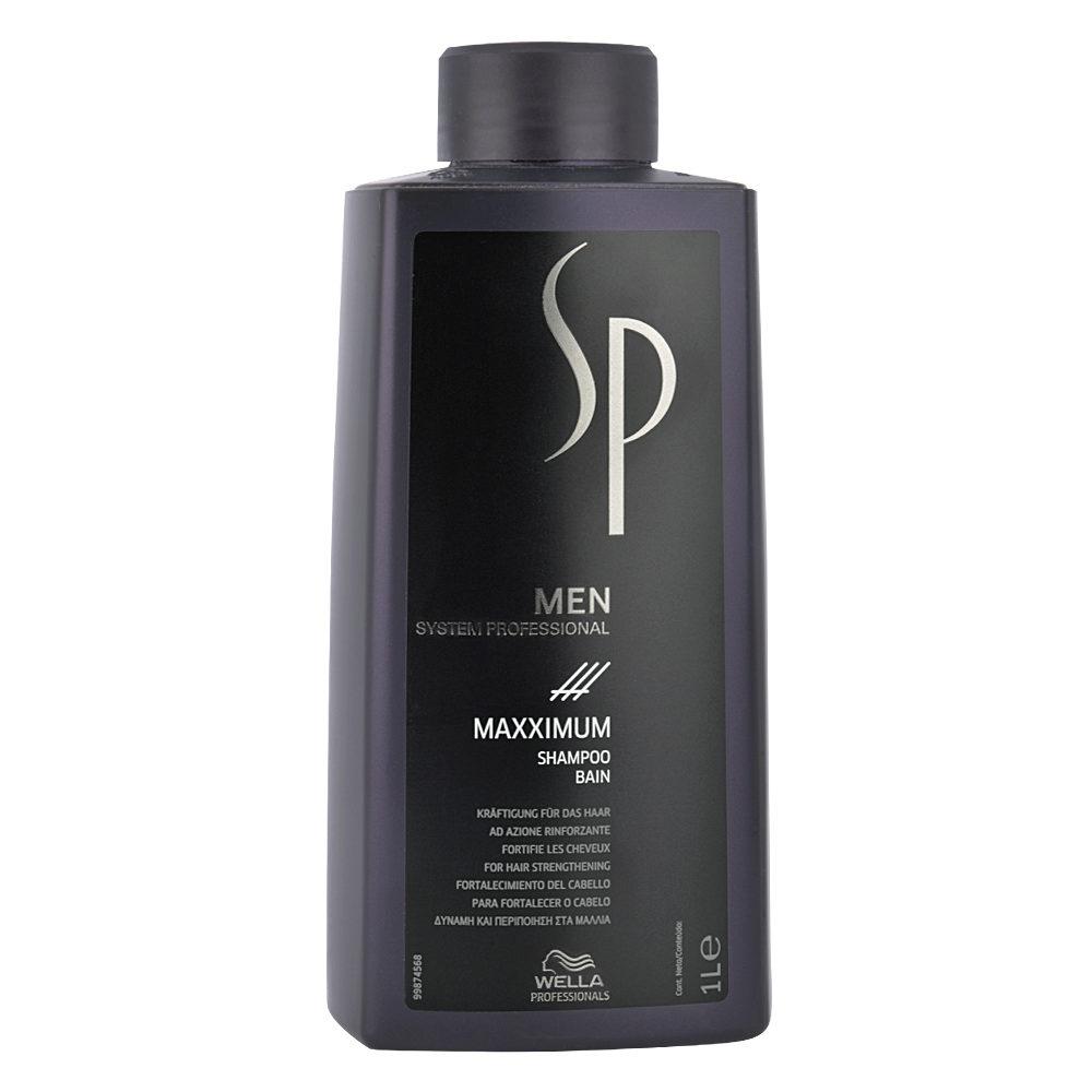 Wella SP Men Maxximum Shampoo 1000ml - champù anticaida