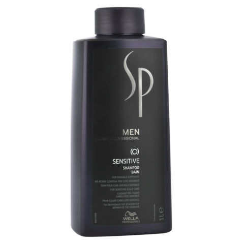 Wella System Professional Men Sensitive Shampoo 1000ml - champú lenitivo