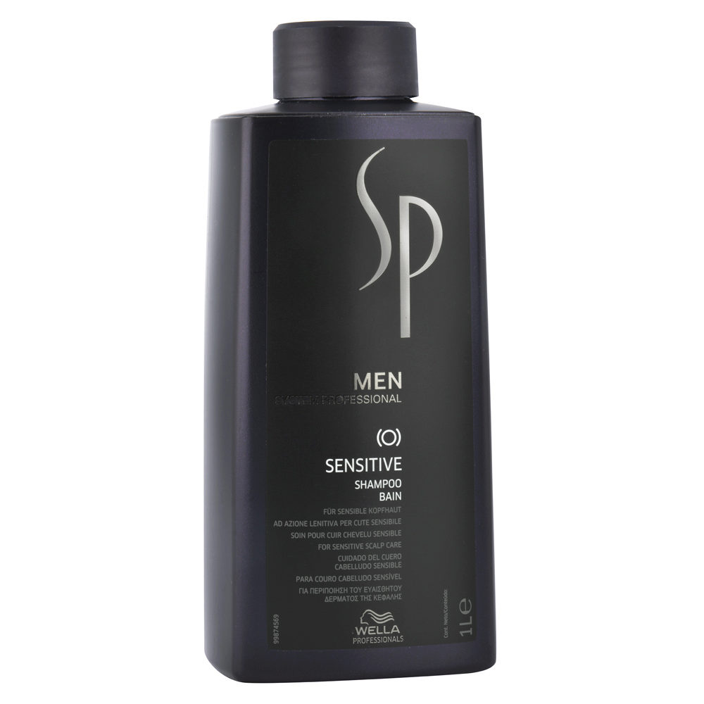 Wella SP Men Sensitive Shampoo 1000ml - champú lenitivo