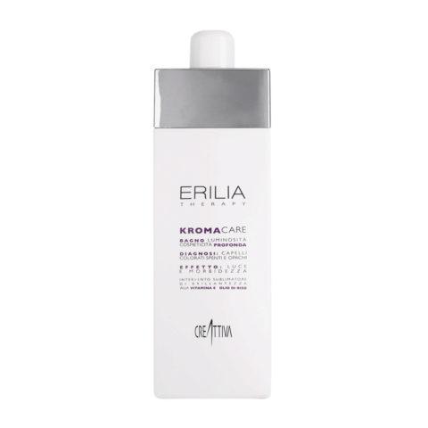 Erilia Kroma Care Bagno Luminosità Cosmeticità Profonda 750ml - champù para cabellos coloreados