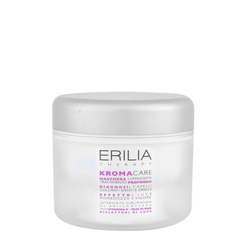 Erilia Kroma Care Maschera Luminosità Trattamento Profondo 200ml - Mascarilla para cabellos coloreados