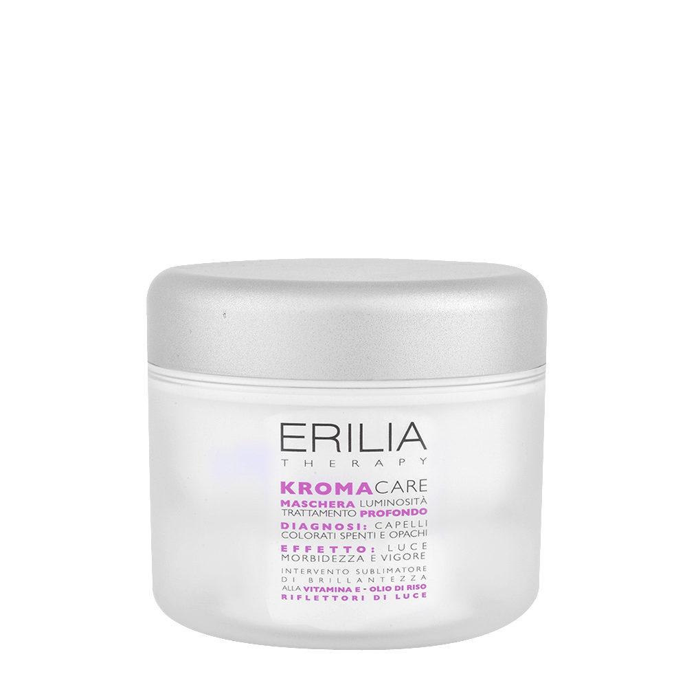 Erilia Kroma Care Maschera Luminosità Trattamento Profondo 200ml - Mascarilla para cabellos coloreados
