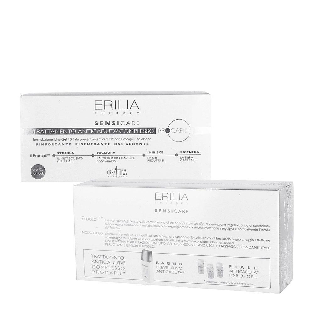Erilia Sensicare Procapil Tratamiento preventivo anti-caída 10x8ml - Ampollas