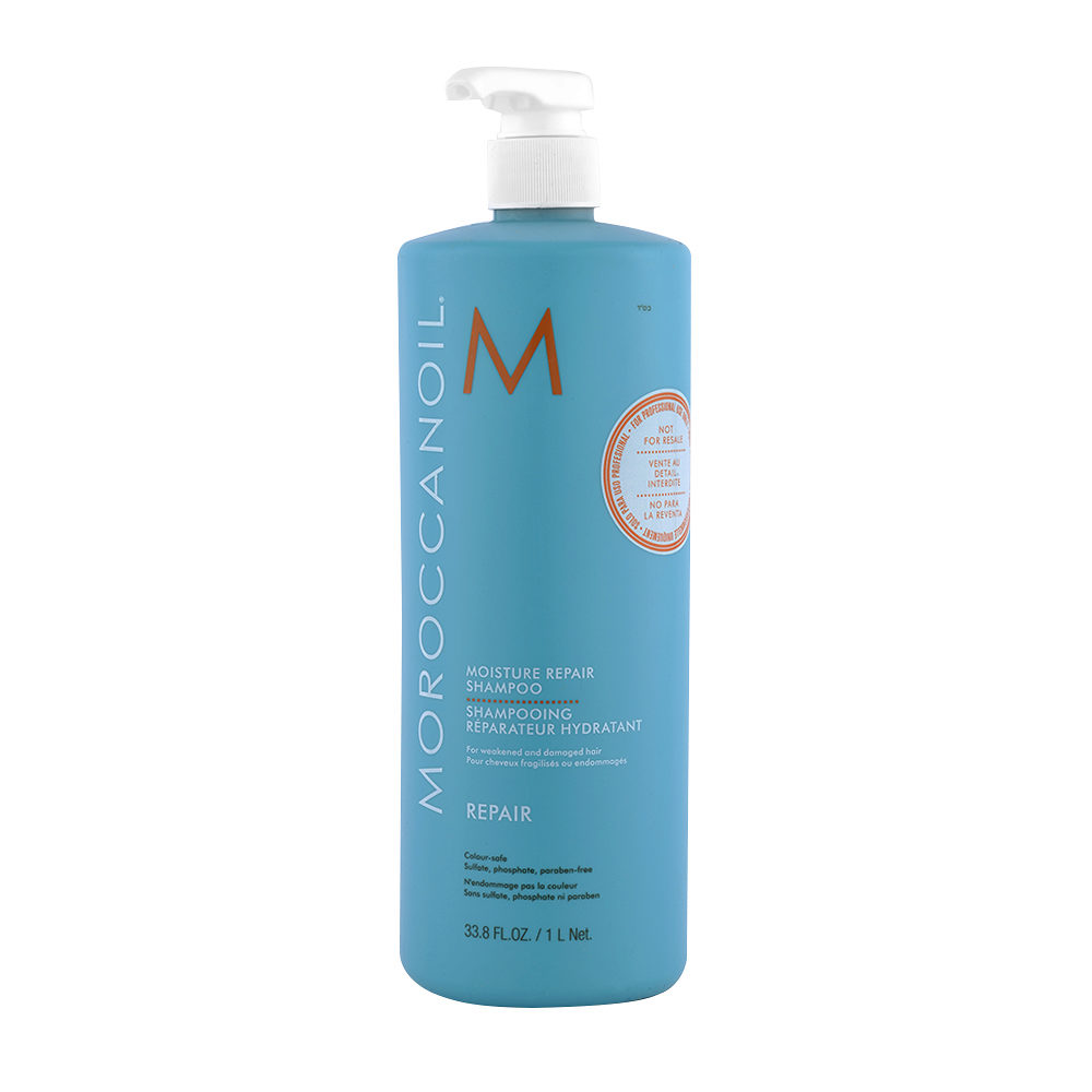 Moroccanoil Moisture repair shampoo 1000ml - champù reparador hidratante