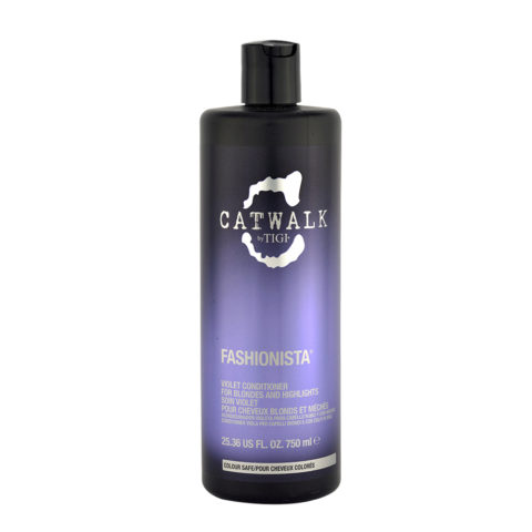 Tigi Catwalk Fashionista Violet conditioner 750ml - Acondicionador Cabellos Rubio