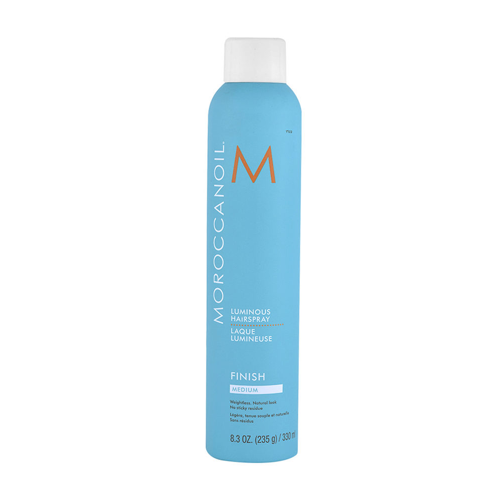 Moroccanoil Luminous Hairspray Finish Medium 330ml - spray de fijacion luminoso medio