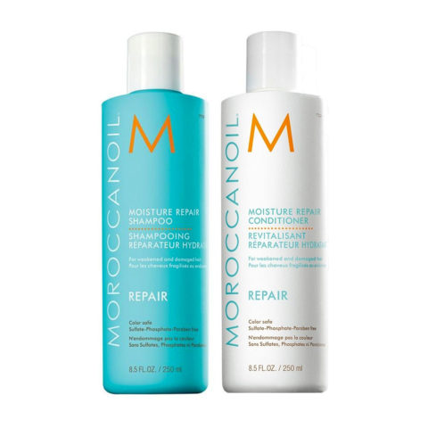 Moroccanoil Kit5 Moisture Repair Shampoo 250ml Conditioner 250ml
