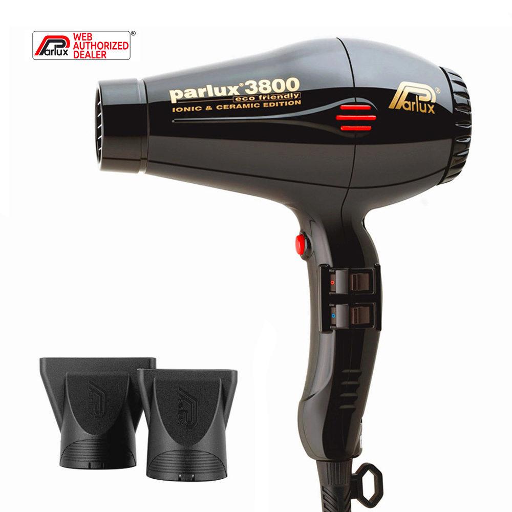 Parlux 3800 Eco Friendly Ionic & Ceramic Negro - secador