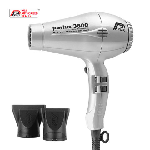 Parlux 3800 Eco Friendly Ionic & Ceramic Plata - secador