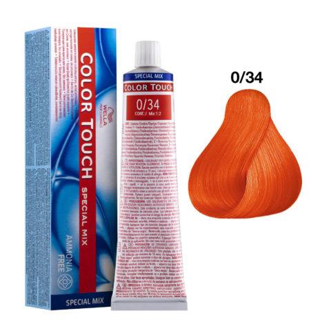 0/34 Naranja-fuego Wella Color Touch senza ammoniaca