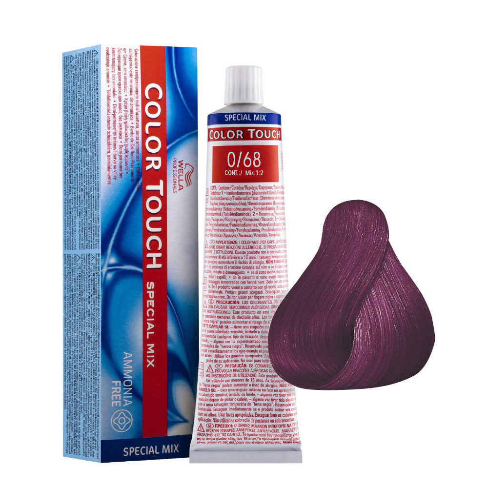0/68 Lila Wella Color Touch Special mix sin amoníaco 60ml