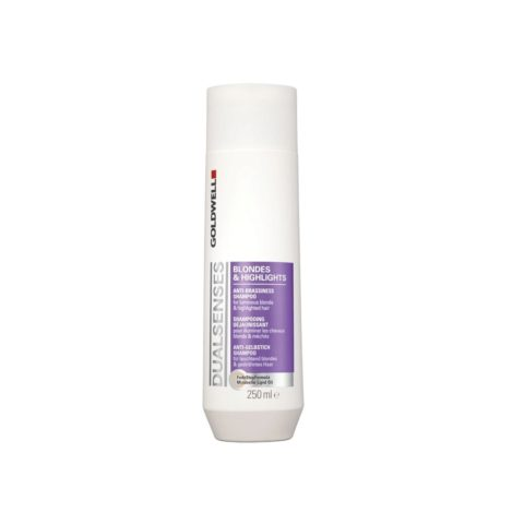 Goldwell Dualsenses blond & highlights Anti brass shampoo 250ml