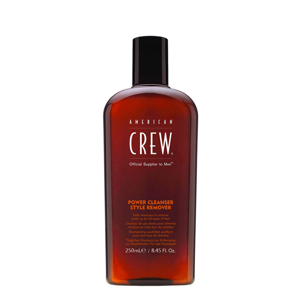 American crew Power cleanser style remover shampoo 250ml - champù diario