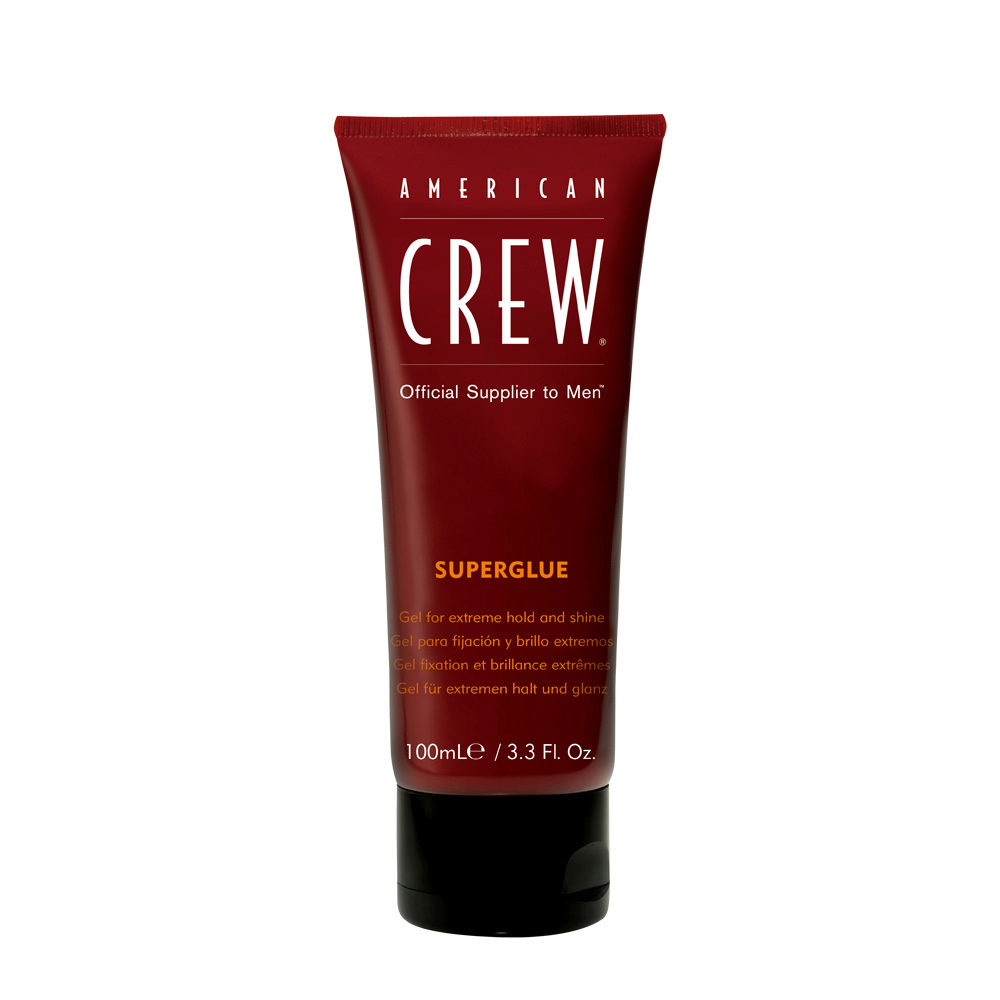 American crew Classic Superglue gel 100ml - gel fuerte y brillo extremo