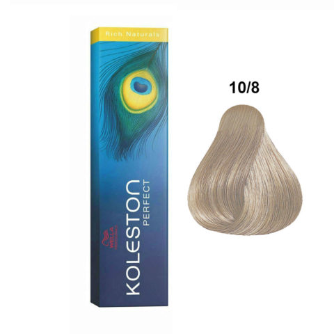 10/8 Rubio platino perla Wella Koleston Perfect Rich naturals