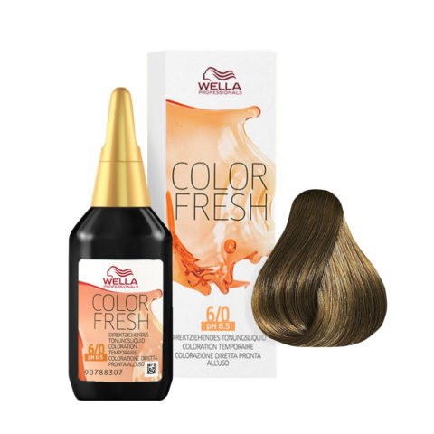 6/0 Rubio oscuro Wella Color fresh 75ml