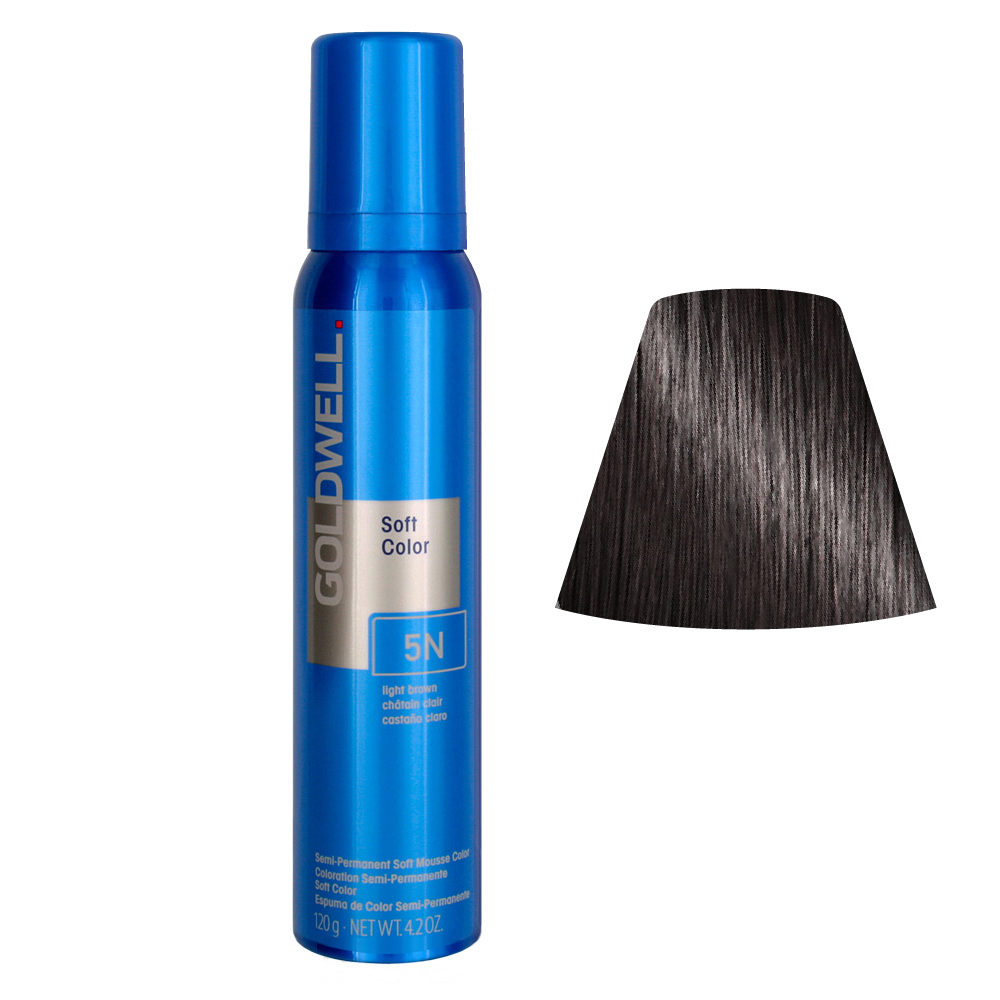 Goldwell Colorance soft color / Espuma colorante 5N Light Brown 125ml
