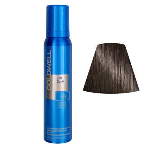 Goldwell Colorance soft color Espuma colorante 6N Rubio Oscuro 125ml