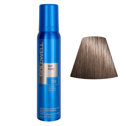 Goldwell Colorance soft color Espuma colorante 7N Mid Blonde 125ml