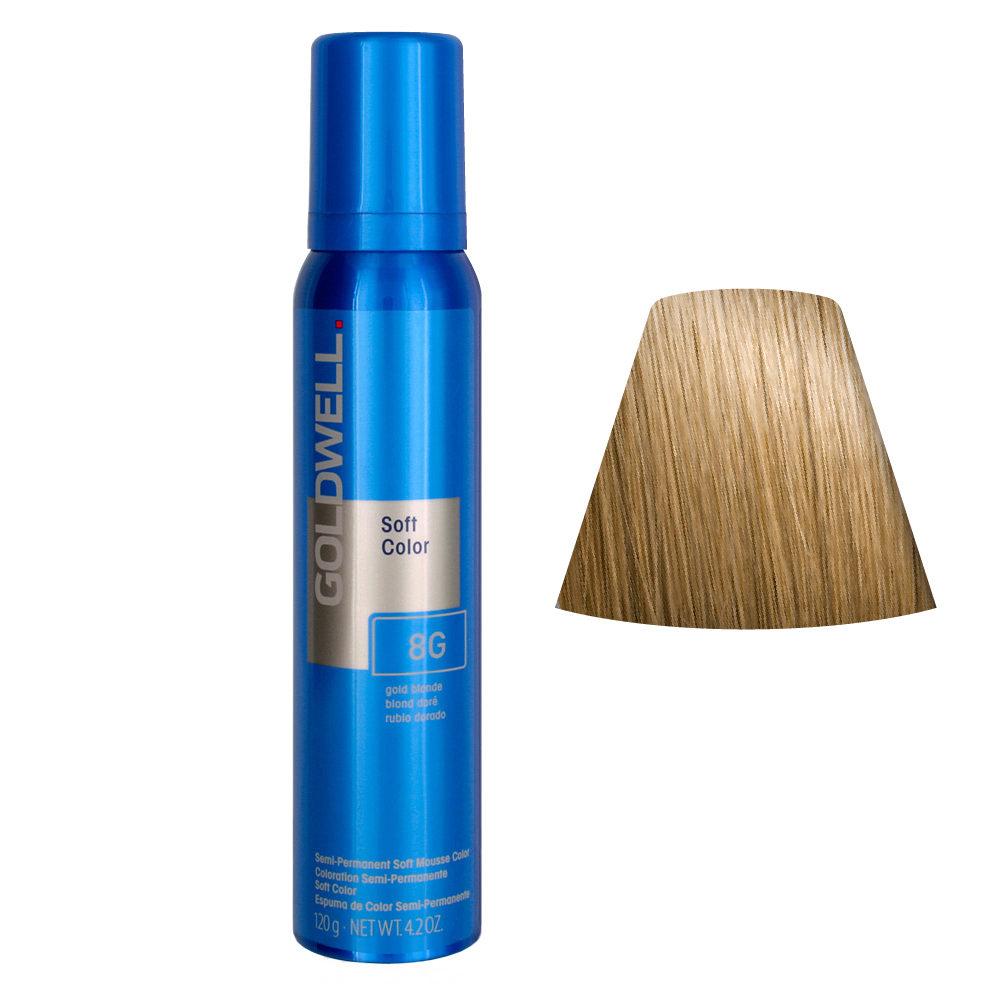 Goldwell Colorance soft color Espuma colorante 8G Rubio Dorado 125ml