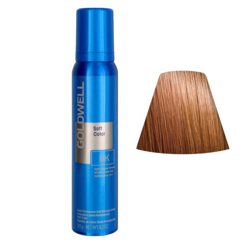 Goldwell Colorance soft color Schiuma colorante 8K Light Copper Blonde 125ml