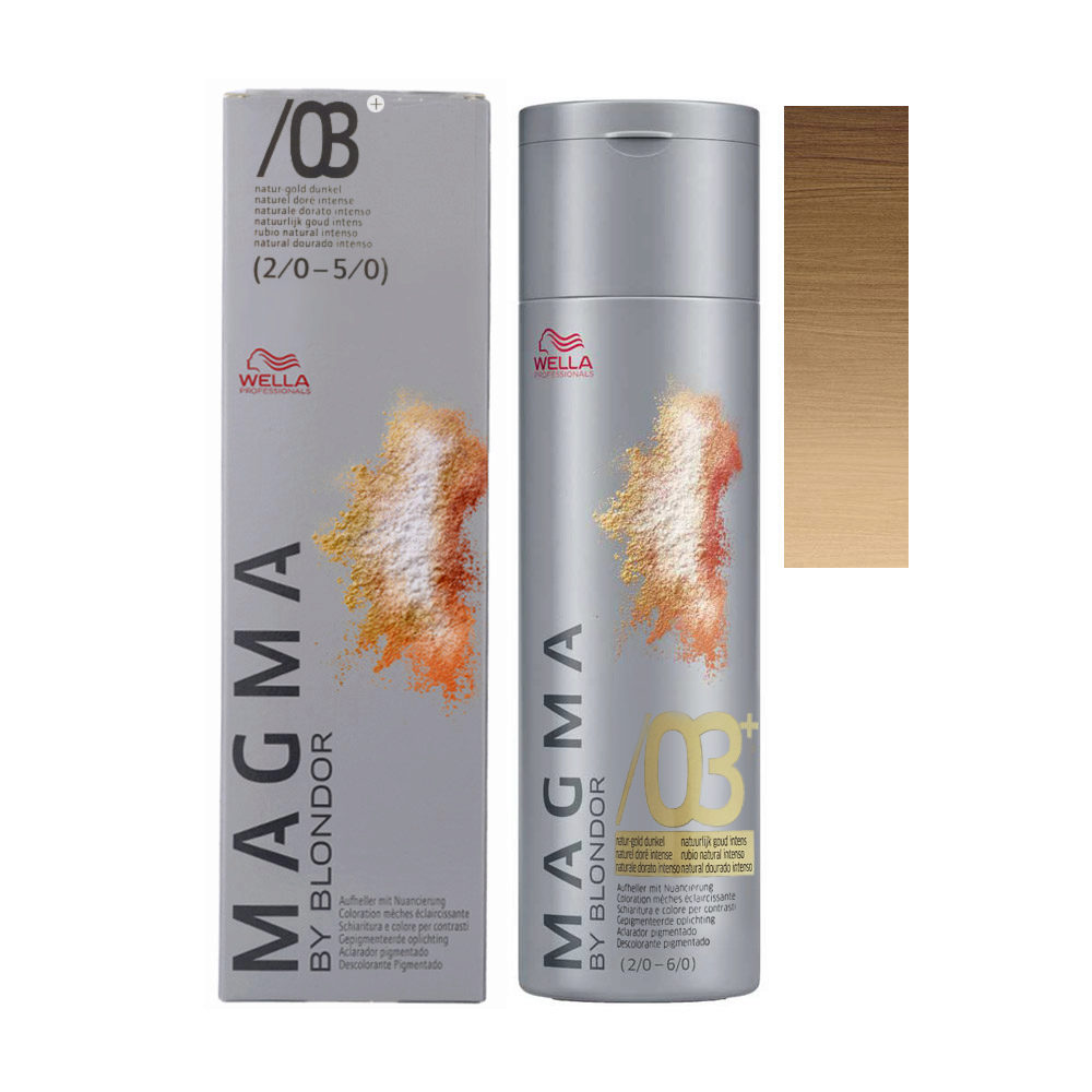 /03+ Rubio natural intenso Wella Magma 120gr