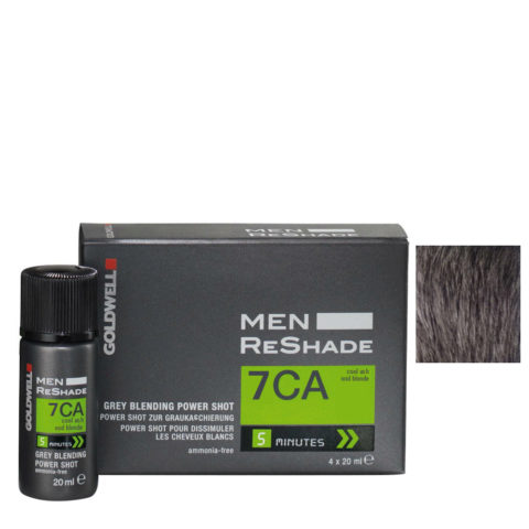 Goldwell Color men reshade 7CA ceniza fría rubio medio CFM 4x20ml
