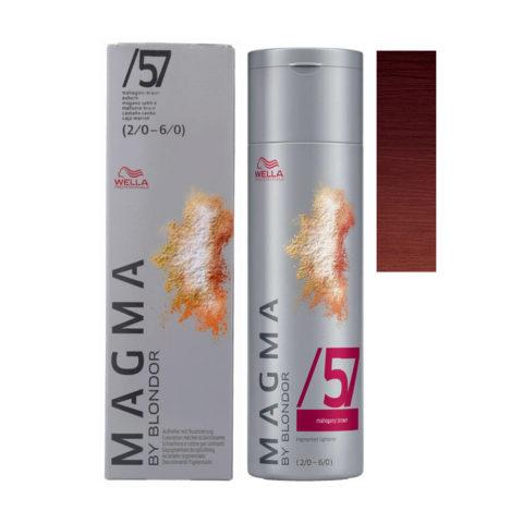 /57 Castaño caoba Wella Magma 120gr