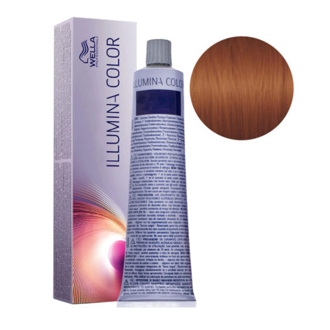 7/43 Rubio medio cobre dorado Wella Illumina Color 60ml
