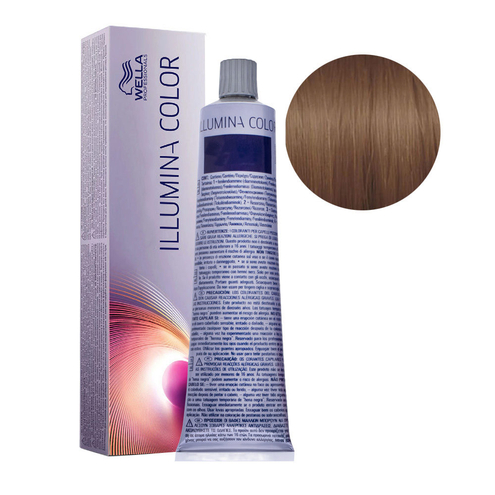 6/ Rubio oscuro Wella Illumina Color 60ml