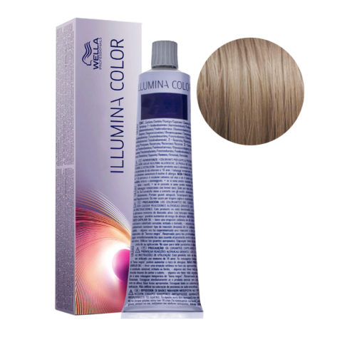 8/1 Rubio claro ceniza Wella Illumina Color 60ml