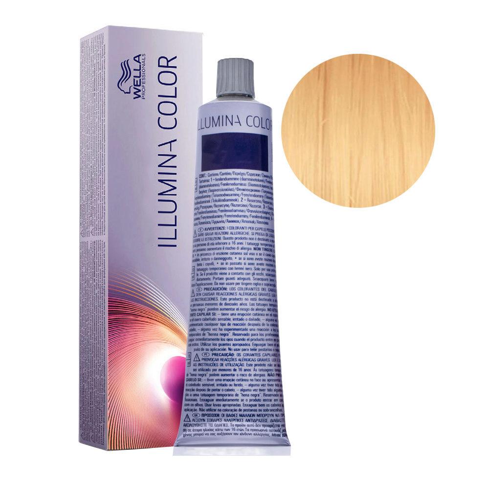 10/05 Rubio super claro natural caoba Wella Illumina Color 60ml