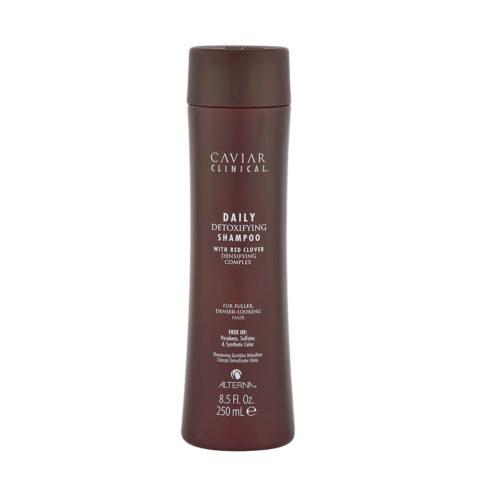 Alterna Caviar Clinical Daily detoxifying shampoo 250ml - Champú fortalecedor para problemas de caída