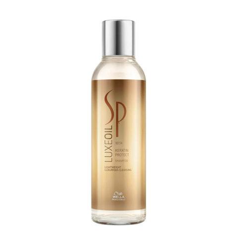 Wella System Professional Luxe Oil Keratine protect shampoo 200ml - champù con keratina